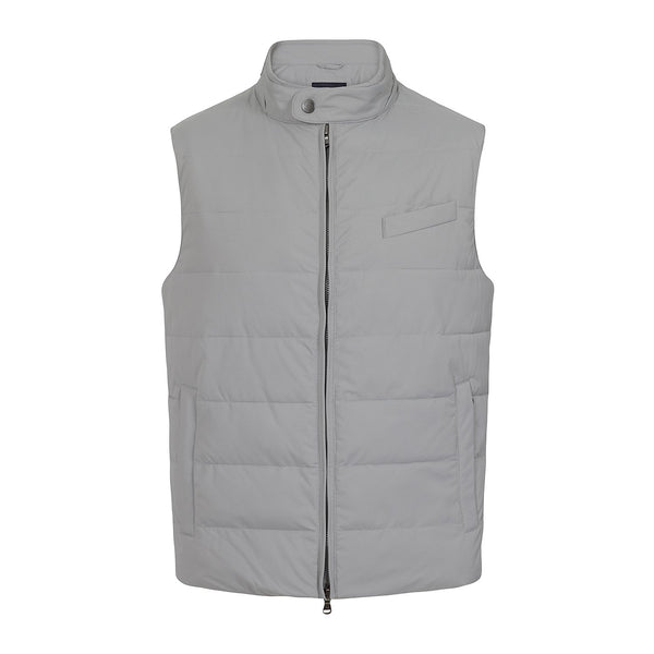 Hackett Savile LW Gilet Mid Grey | Malford of London Savile Row and Luxury Formal Wear Sale Outlet