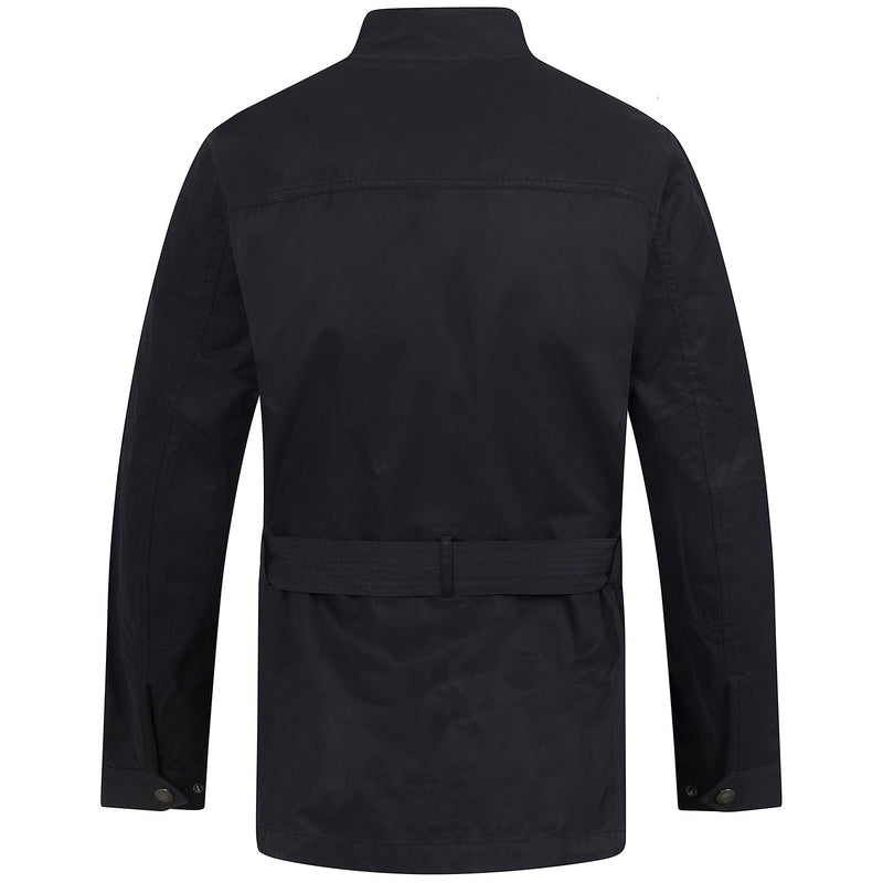 Hackett Savile Row GB Biker International Jacket Navy | Malford of London Savile Row and Luxury Formal Wear Sale Outlet