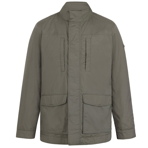 Hackett Savile Row LW Field Jacket Khaki | Malford of London Savile Row and Luxury Formal Wear Sale Outlet