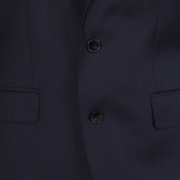 Hackett Savile Row Micro Check Suit Navy | Malford of London Savile Row and Luxury Formal Wear Sale Outlet