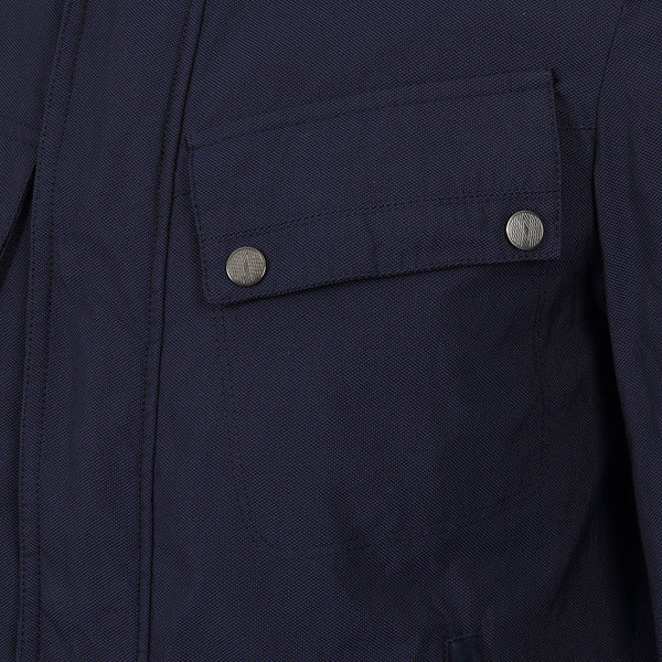 Hackett Savile Row Moto Jacket Navy | Malford of London Savile Row and Luxury Formal Wear Sale Outlet