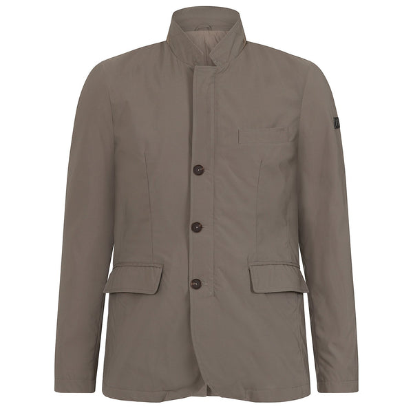 Hackett Savile Row NYLON Blazer Jacket Khaki | Malford of London Savile Row and Luxury Formal Wear Sale Outlet