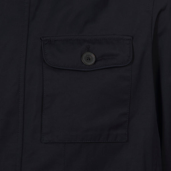 Hackett Savile Row Padded Field Jacket Navy | Malford of London Savile Row and Luxury Formal Wear Sale Outlet