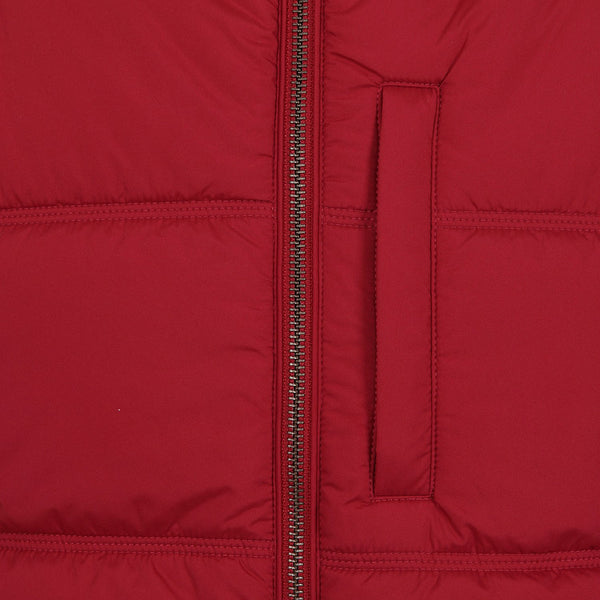 Hackett Savile Row Polar Fleece Gilet Red | Malford of London Savile Row and Luxury Formal Wear Sale Outlet