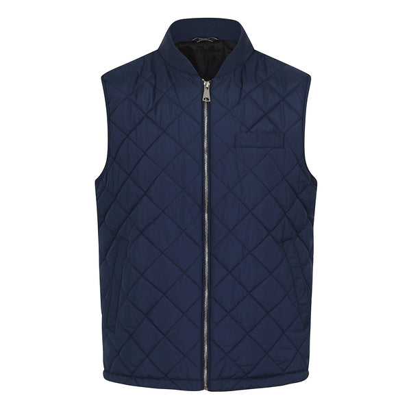 Hackett Savile Row Quilt Gilet Navy | Malford of London Savile Row and Luxury Formal Wear Sale Outlet