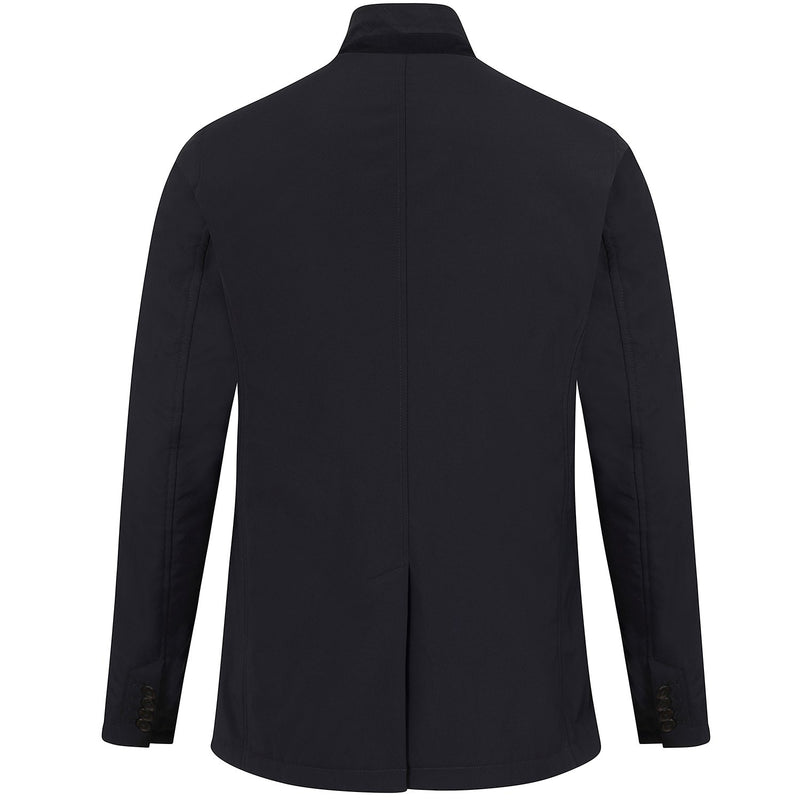 Hackett Savile Row Soft Shell Blazer Jacket Navy | Malford of London Savile Row and Luxury Formal Wear Sale Outlet