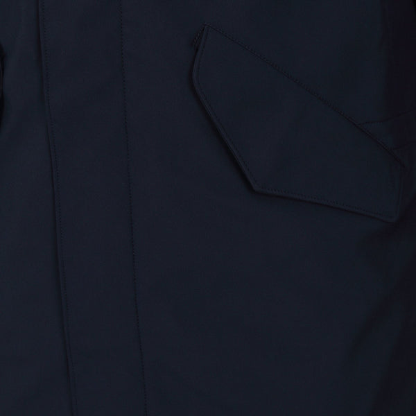 Hackett Savile Row Softshell Parka Navy | Malford of London Savile Row and Luxury Formal Wear Sale Outlet