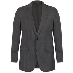 Hackett Single Breasted Prince Of Wales Check Suit Mid Grey | Malford of London Savile Row and Luxury Formal Wear Sale Outlet