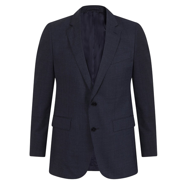 Hackett Single Breasted Prince Of Wales Savile Row Suit Navy | Malford of London Savile Row and Luxury Formal Wear Sale Outlet
