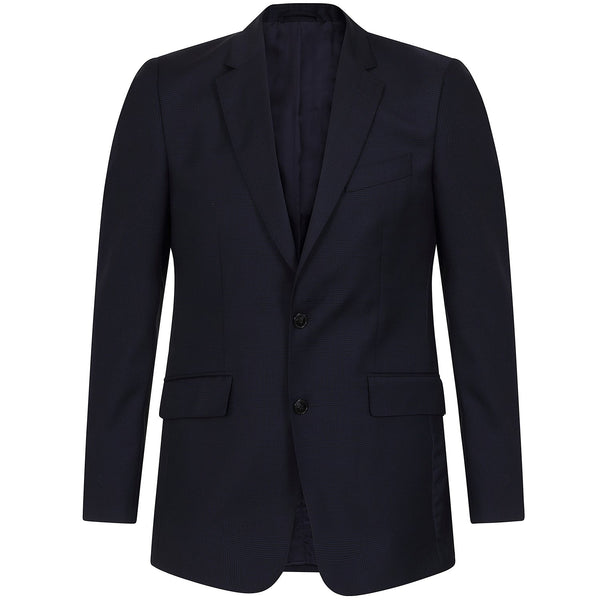 Hackett Single Breasted Wool WL Glenncheck B Savile Row Suit Navy | Malford of London Savile Row and Luxury Formal Wear Sale Outlet