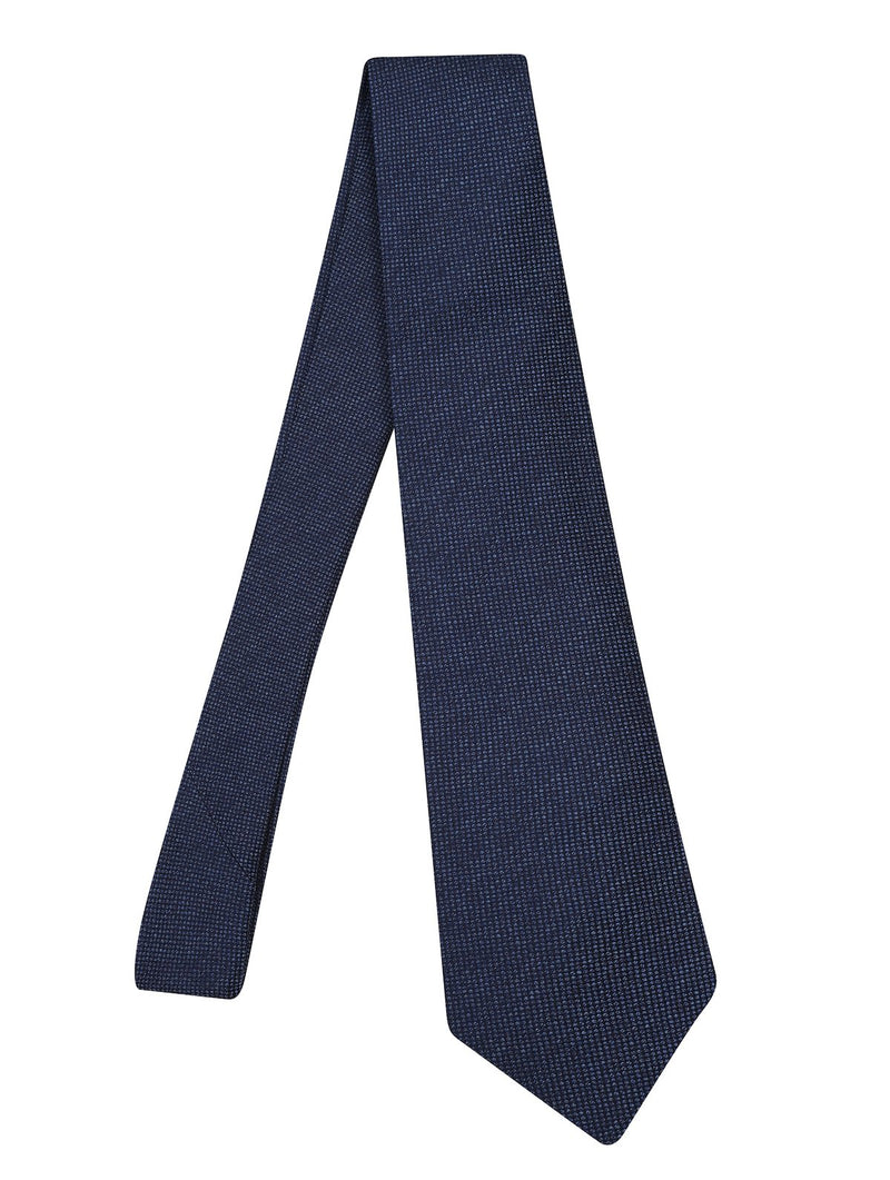 Hardy Amies MIDNIGHT LUXURY BLUE WOVEN SILK TIE | Malford of London Savile Row and Luxury Formal Wear Sale Outlet