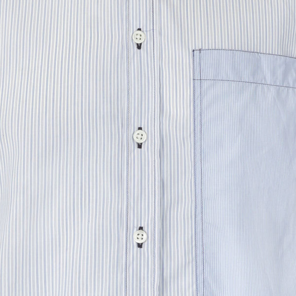 Joseph Blue Sky Stripe Cotton Shirt | Malford of London Savile Row and Luxury Formal Wear Sale Outlet