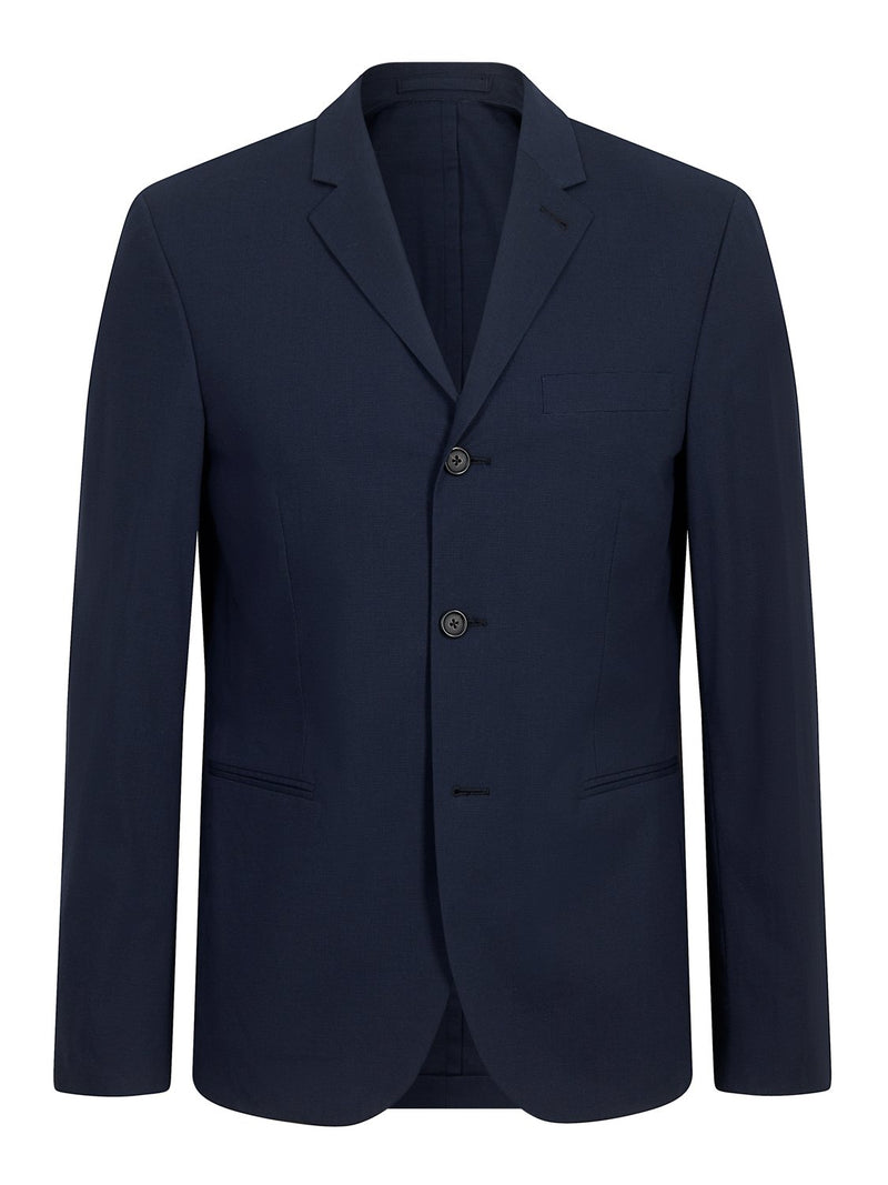 Joseph Bruce Light Cotton Jacket Marine | Malford of London Savile Row and Luxury Formal Wear Sale Outlet