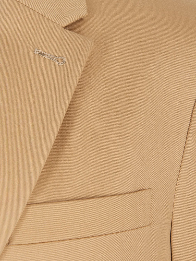 Joseph Hanford Twill Chino Jacket Camel | Malford of London Savile Row and Luxury Formal Wear Sale Outlet