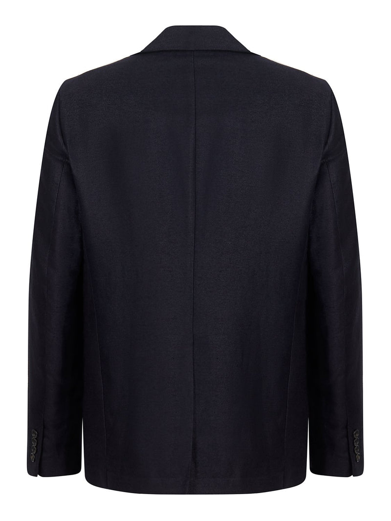 Joseph Hawthorne Brushed Twill Jacket Navy | Malford of London Savile Row and Luxury Formal Wear Sale Outlet