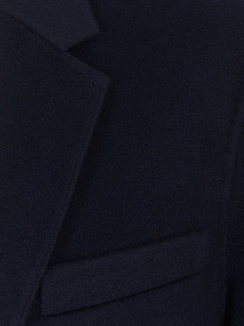 Joseph Mells-Double Face Wool Cashmere Jacket Navy | Malford of London Savile Row and Luxury Formal Wear Sale Outlet