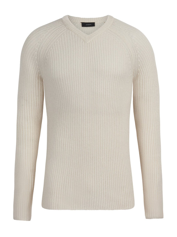 Joseph Spring Cashmere Ecru | Malford of London Savile Row and Luxury Formal Wear Sale Outlet