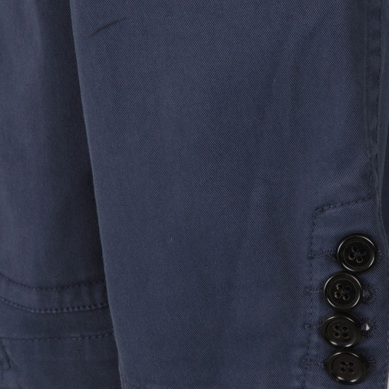 Joseph Venice Navy Cotton Jacket | Malford of London Savile Row and Luxury Formal Wear Sale Outlet