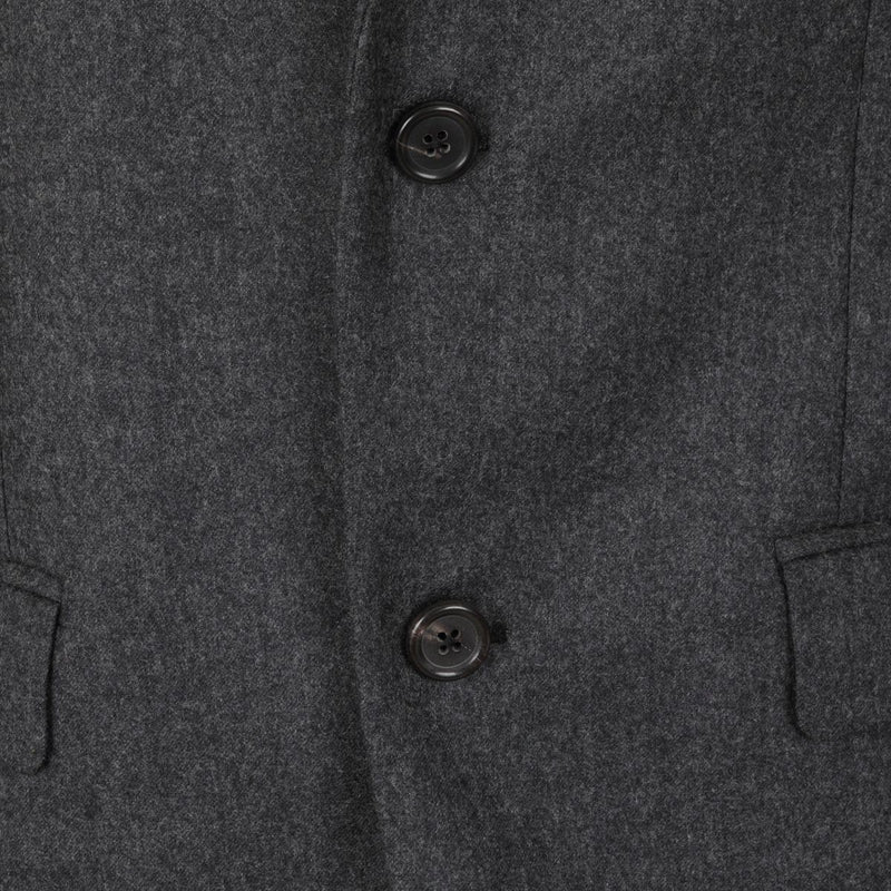 Jospeh Davide Flannel Charcoal Jacket | Malford of London Savile Row and Luxury Formal Wear Sale Outlet