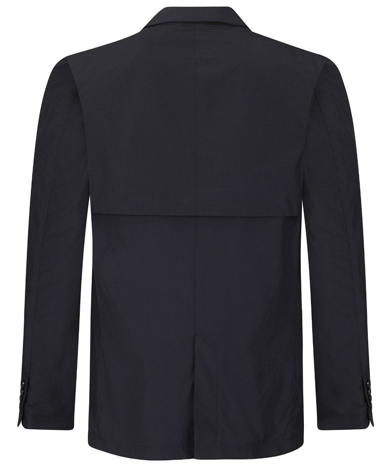 Jospeh Jefferson Seersucker Navy Jacket | Malford of London Savile Row and Luxury Formal Wear Sale Outlet