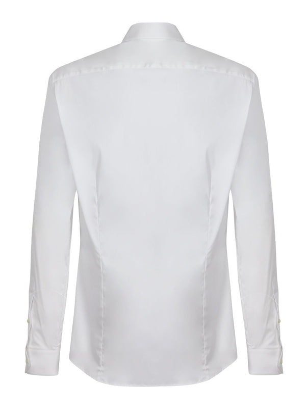 Jospeh Jim Poplin Shirt White | Malford of London Savile Row and Luxury Formal Wear Sale Outlet