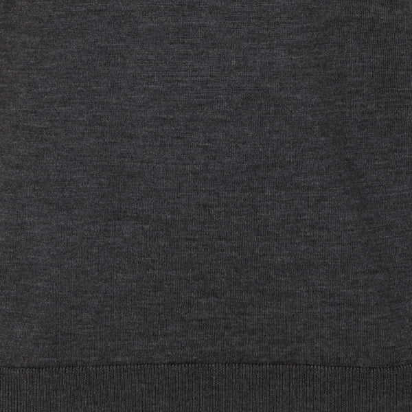Kilgour Charcoal Crew Neck Knit | Malford of London Savile Row and Luxury Formal Wear Sale Outlet