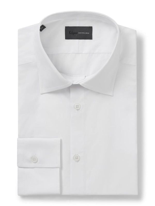 Kilgour Classic Shirt White | Malford of London Savile Row and Luxury Formal Wear Sale Outlet