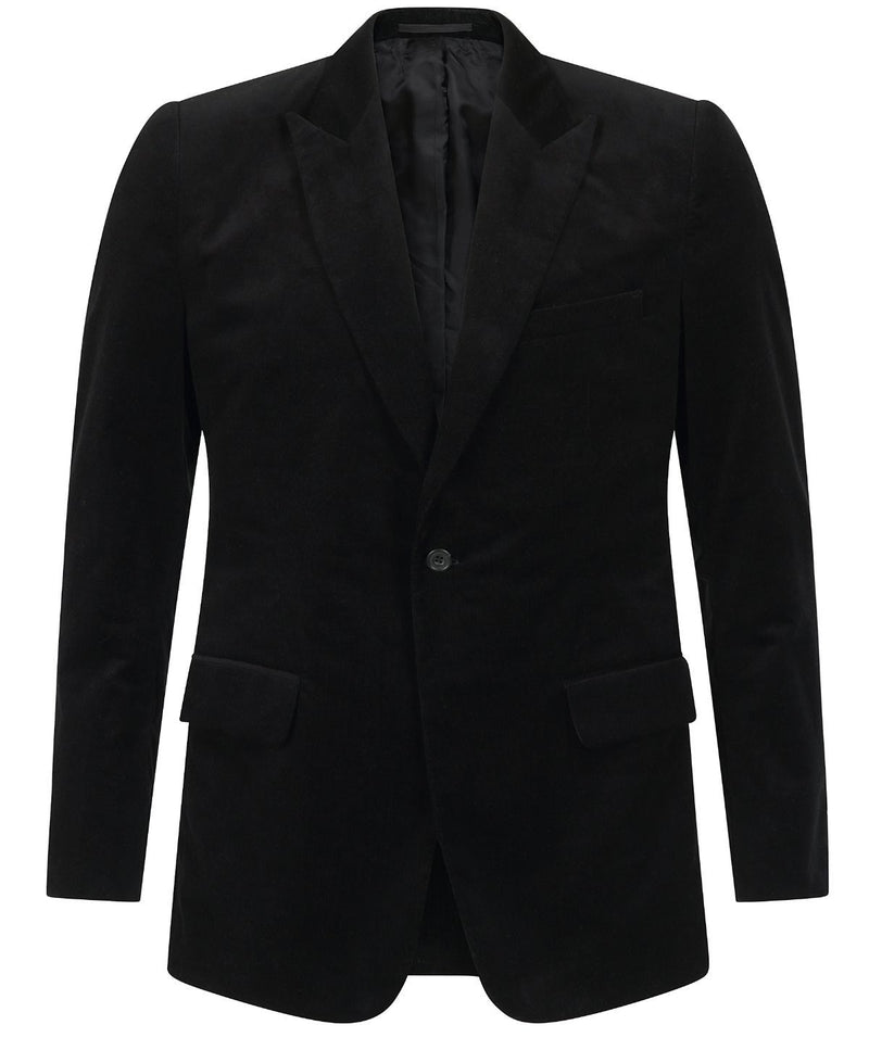 Kilgour Luxury Black Corduroy Suit | Malford of London Savile Row and Luxury Formal Wear Sale Outlet