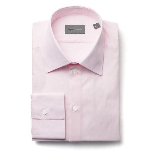 Kilgour Luxury Cotton Shirt Pink | Malford of London Savile Row and Luxury Formal Wear Sale Outlet