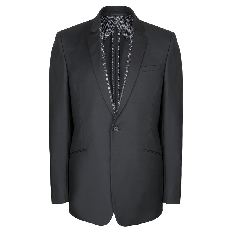 Kilgour Luxury Silk Lined Black Dinner Jacket | Malford of London Savile Row and Luxury Formal Wear Sale Outlet