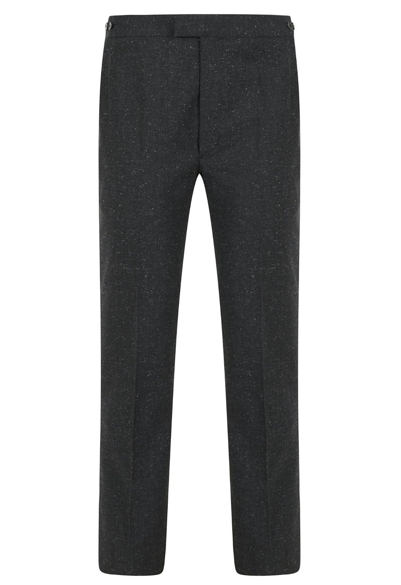 Kilgour Mid Charcoal Fleck Luxury Suit | Malford of London Savile Row and Luxury Formal Wear Sale Outlet