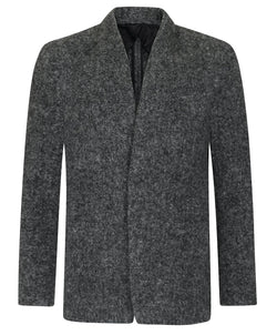 Kilgour Mid Grey Alpaca Shawl Blazer | Malford of London Savile Row and Luxury Formal Wear Sale Outlet