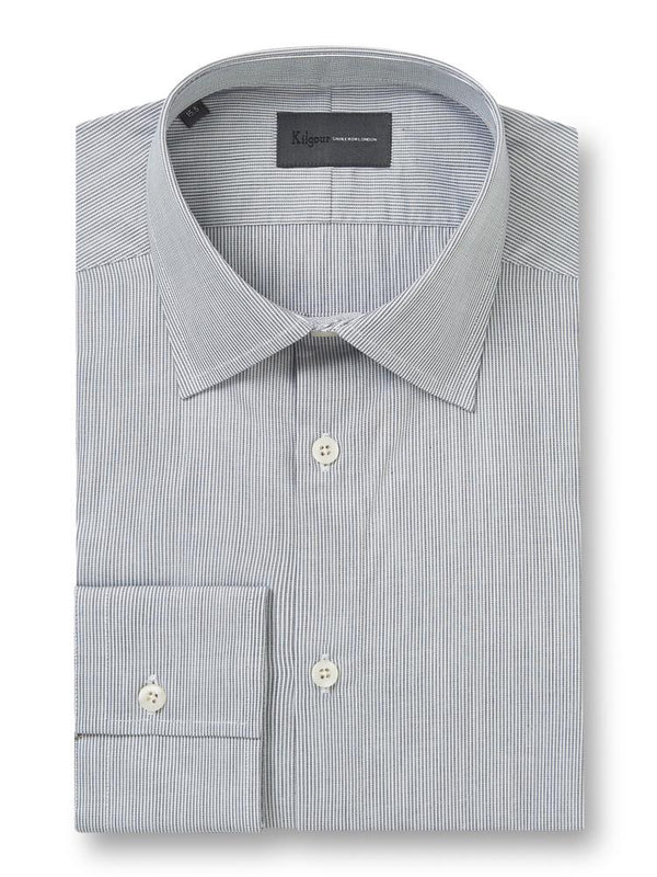 Kilgour Savile Row Tailoring Kilgour Cotton Stripe Shirt