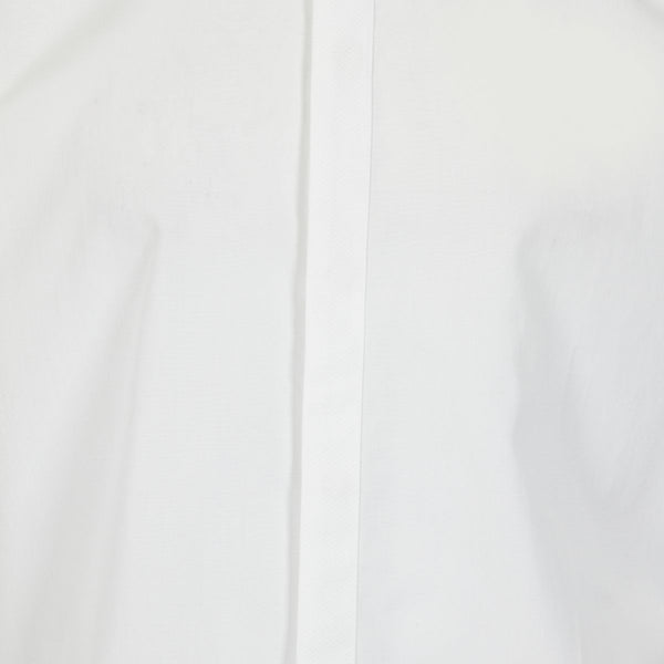 Kilgour White Poplin Luxury Cotton Shirt | Malford of London Savile Row and Luxury Formal Wear Sale Outlet