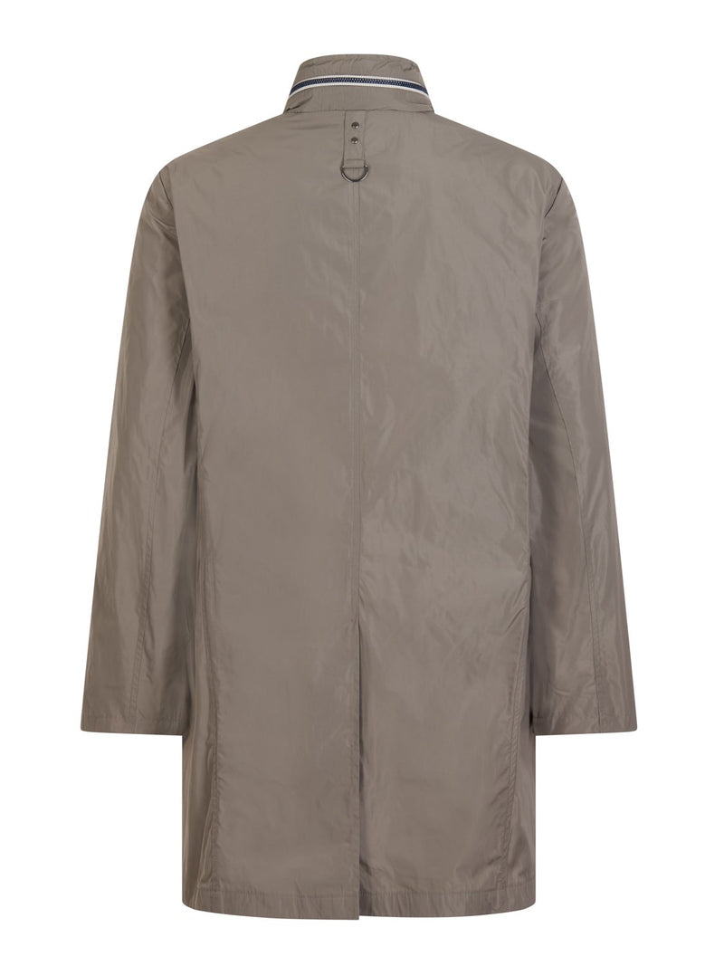 Louis Feraud Stormer Coat - Grey | Malford of London Savile Row and Luxury Formal Wear Sale Outlet