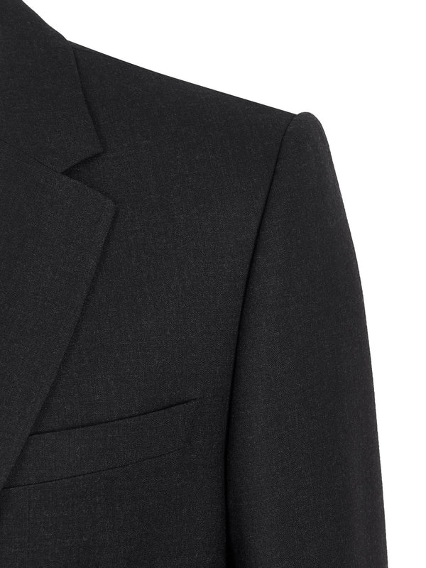 SB1 KG Single Breasted Suit Charcoal | Malford of London Savile Row and Luxury Formal Wear Sale Outlet