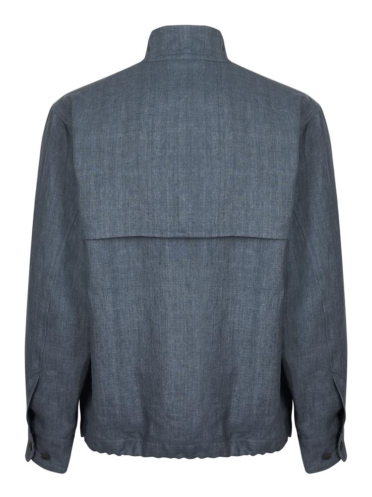 Thomas Pink Harrington Shirt Jacket Pale Blue | Malford of London Savile Row and Luxury Formal Wear Sale Outlet