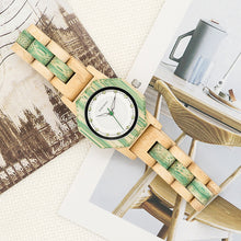 Montre bambou Green Delicacy