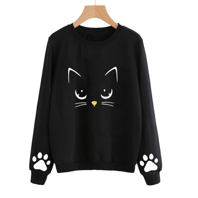 Princesse Végane - sweat chat, sweat cat silhouette, sac sans cuir animal, sac vegan, boutique vegane, mode femme vegane, articles de mode vegan, ethique vegane, veganisme, vegan, veganism, sac vegan, bijoux, decoration vegane