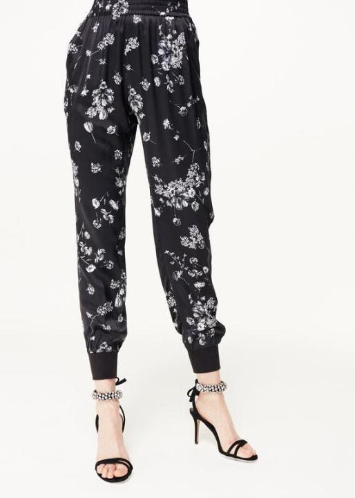 CamiNYC Sadie Jogger in Stone Floral | 4sisters1closet
