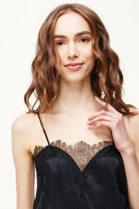 Cami NYC Sweetheart Charmeuse in Black