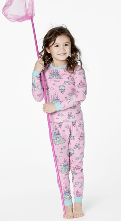 Bed Head Floating Kingdom Stretch L/S 2pc Kids' PJ