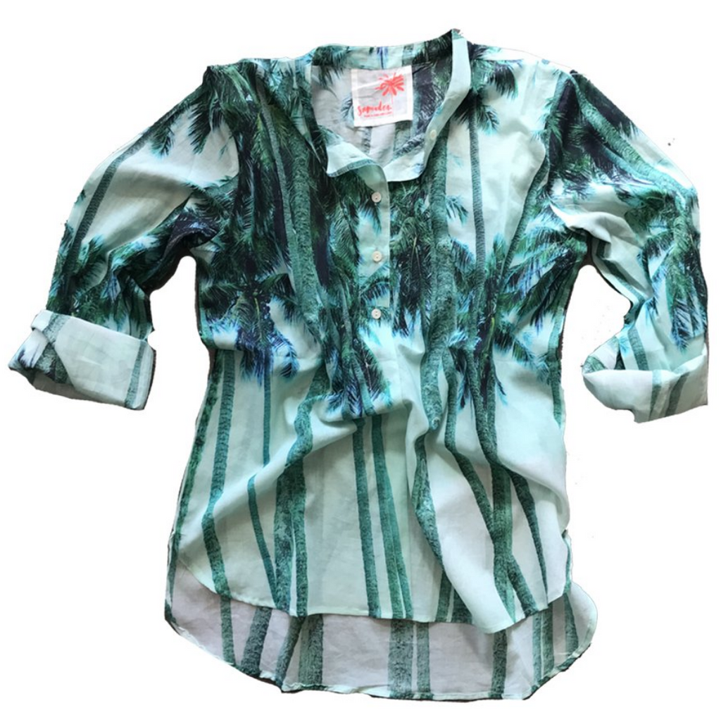 Samudra Tetiaroa Button Up Shirt