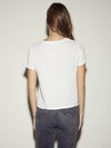 Nation Marie Boxy Crop in White