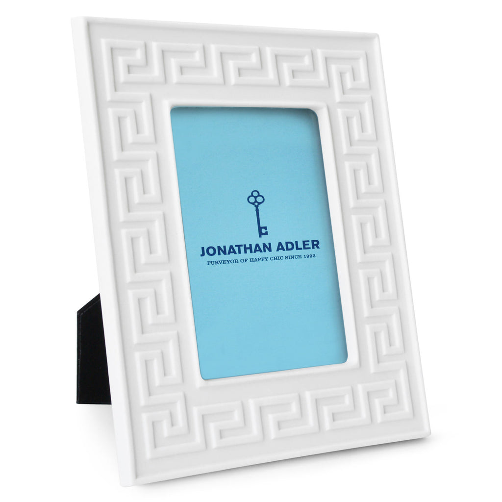 "Jonathan Adler Frame ""Charade Greek Key"""