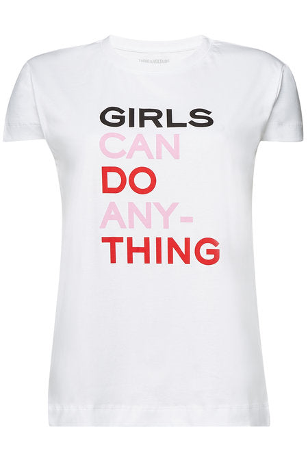 Zadig & Voltaire Girls Can Do Anything Tee | 4sisters1closet