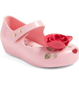 Mini Melissa  Beauty & Beast in Pink