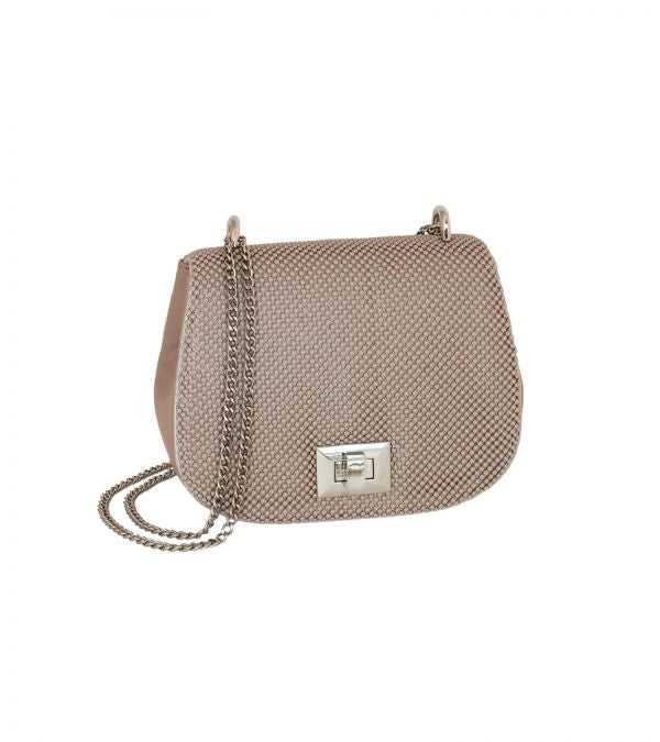 Whiting & Davis Mini Saddle Bag