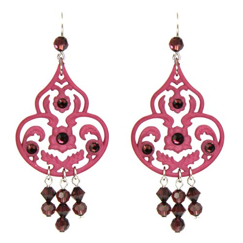 Tarina Tarantino Lucite and Crystal Drop Earring