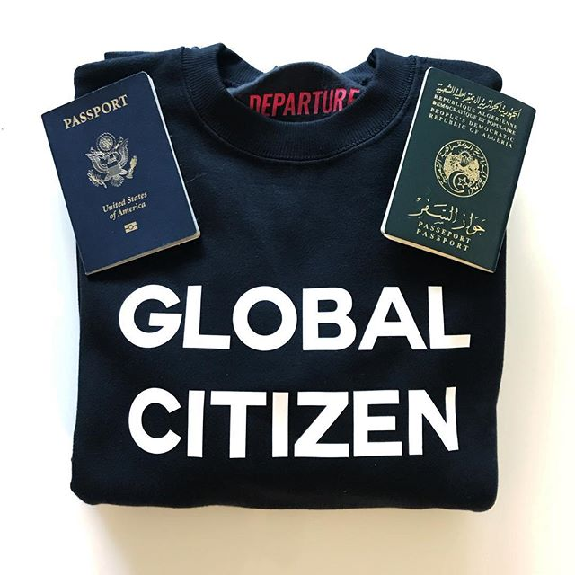 DEPARTURE Global Citizen Crew Neck Sweatshirt